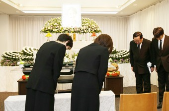 家族葬のお通夜