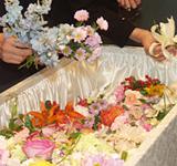 思い出と花に包まれて