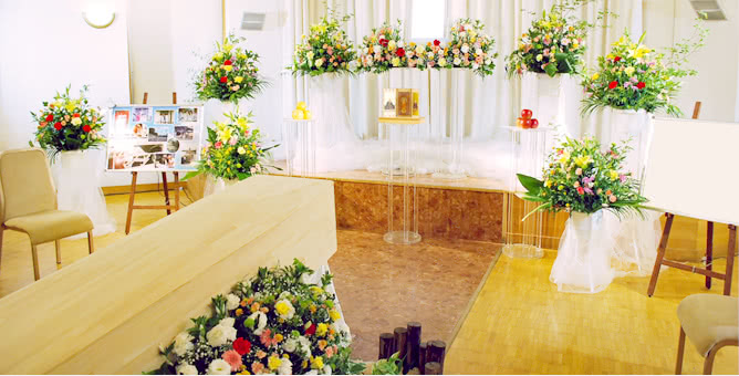 音楽葬祭壇
