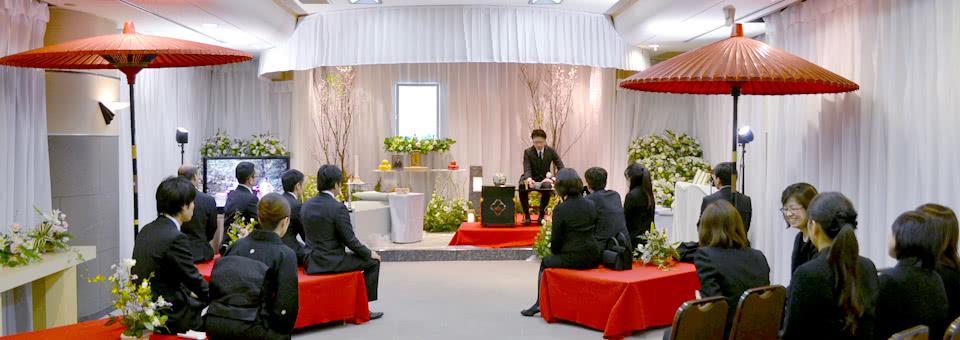 野点の花祭壇