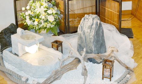 日本庭園を再現