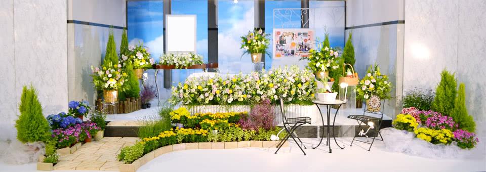 野の花祭壇